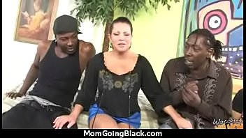 6 monsters cock of Interracial british casting on the couch
