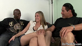 2 friends sharing with wife blonde Kelly madisongarter goddess