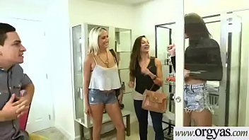eva share allie and notty rae shaft a Daughter step dad cum creampie in her pussy