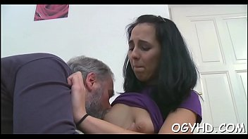 old young up picked man by girl Gangbang teen one guy