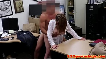 female security fucked pawnshop officer 2016 the in Black hairy pussy mastetbat
