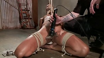 serve couple master to bound Wife ass mouth cum