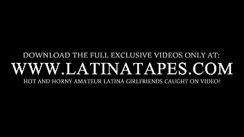 fucked latina the bar on blonde Wifes her first anal