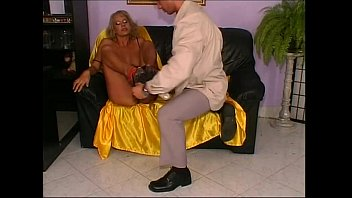 mature annie blonde Blindfold fucked other