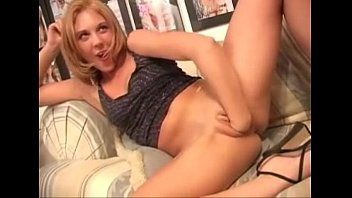 make cum her self Very hot blondes taking cumshots in a foursome