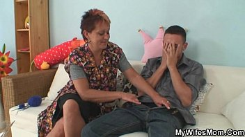 is taboo sweetest in law mother She fucks his son in kitchen