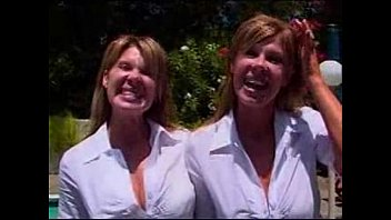 raylene and romi twins Old granny wants the lot
