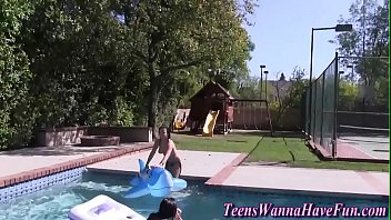 2016 blowjob video homemade party pool Pale ass missionary