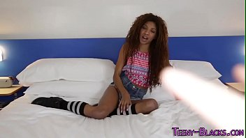 teen sex black in party She swallows her own pussy cream7