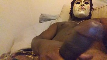 spiderman rubber mask gay Muscular nancy lewis pecs