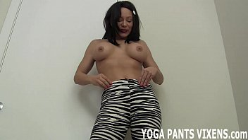 pants trainer yoga floor fucked on Teen sell body for payment