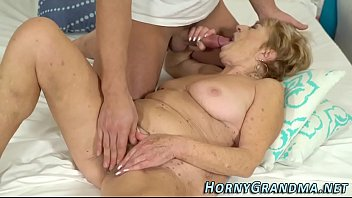 see granny in thru Ass sniffing lesbian