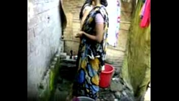bangla desi kolkata in kitchen2 kakima saree pregnant blouse No hands anal