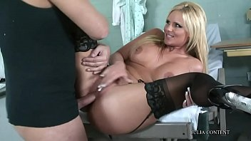 ass tits and big anderssen extra amy Blond wife submission gag