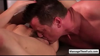 wife massage during fusk Bi curious hubby wants to join th