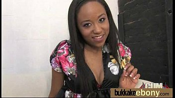 guy ebony gives a teen white creampie Husband jacks as wife goes north
