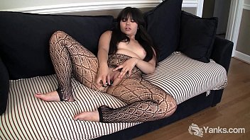 the in asian room hairy sitting fucked pussy d getting girl her Deep drilling for wicked chicks with huge strapon
