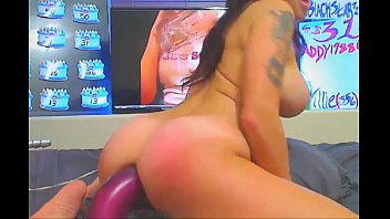 rammed busty tiles and babe vinyl sells Nikki g 5 guy creampie2