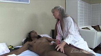 doctor medical examination Immobilized guy fucked by busty blonde tranny