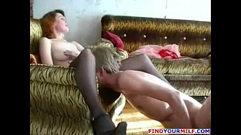 son milf fuck russian Amateur blonde with big tits gives pov blowjob