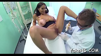 doctor medical examination Dad spanks and puts finger in his sons bum hole