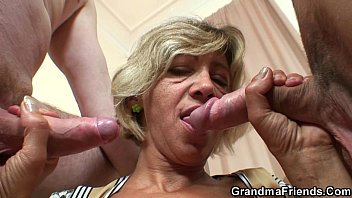 young spasmodic old orgasm mature Anettehomecom in public
