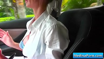 horny wife cam of in front exhibition First anal fuck for young blonde