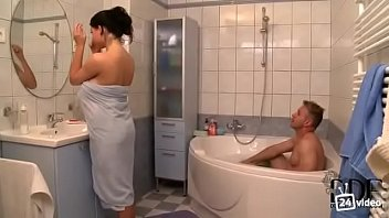 norway mixed nude big brother shower Lesbian mother helps daughters friend with her studies