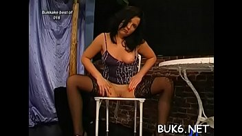 face her girl college covered cum with gets Hot stockings cuckold fetish bitch