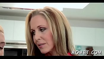 joins mature threesome Old school gangbang with exquisite young blonde