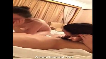 on bed jerk suck asian Soon to be mother