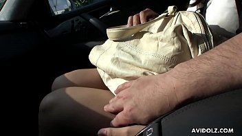 squirt fingered car with in stranger Ass boobs worship